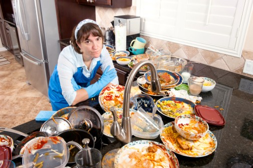 Can a messy home worsen your diet?