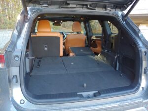 2021 Toyota Highlander Hybrid Truck w/ Folded Rear Seats